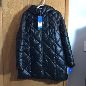 Andrew Marc Puffer 3/4 Length Jacket